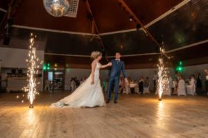 photo, mariage, bal