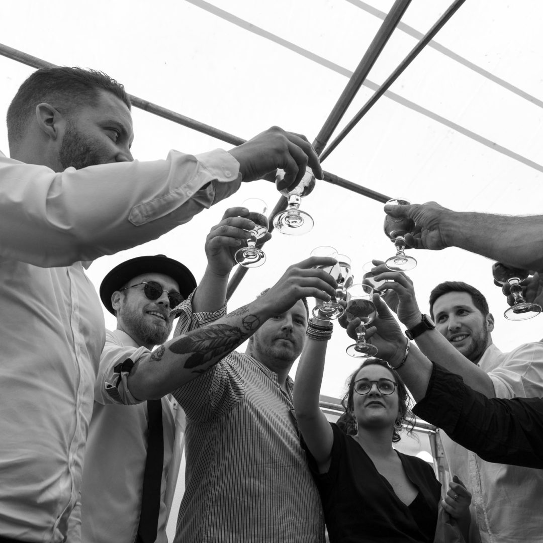 photo mariage cocktail